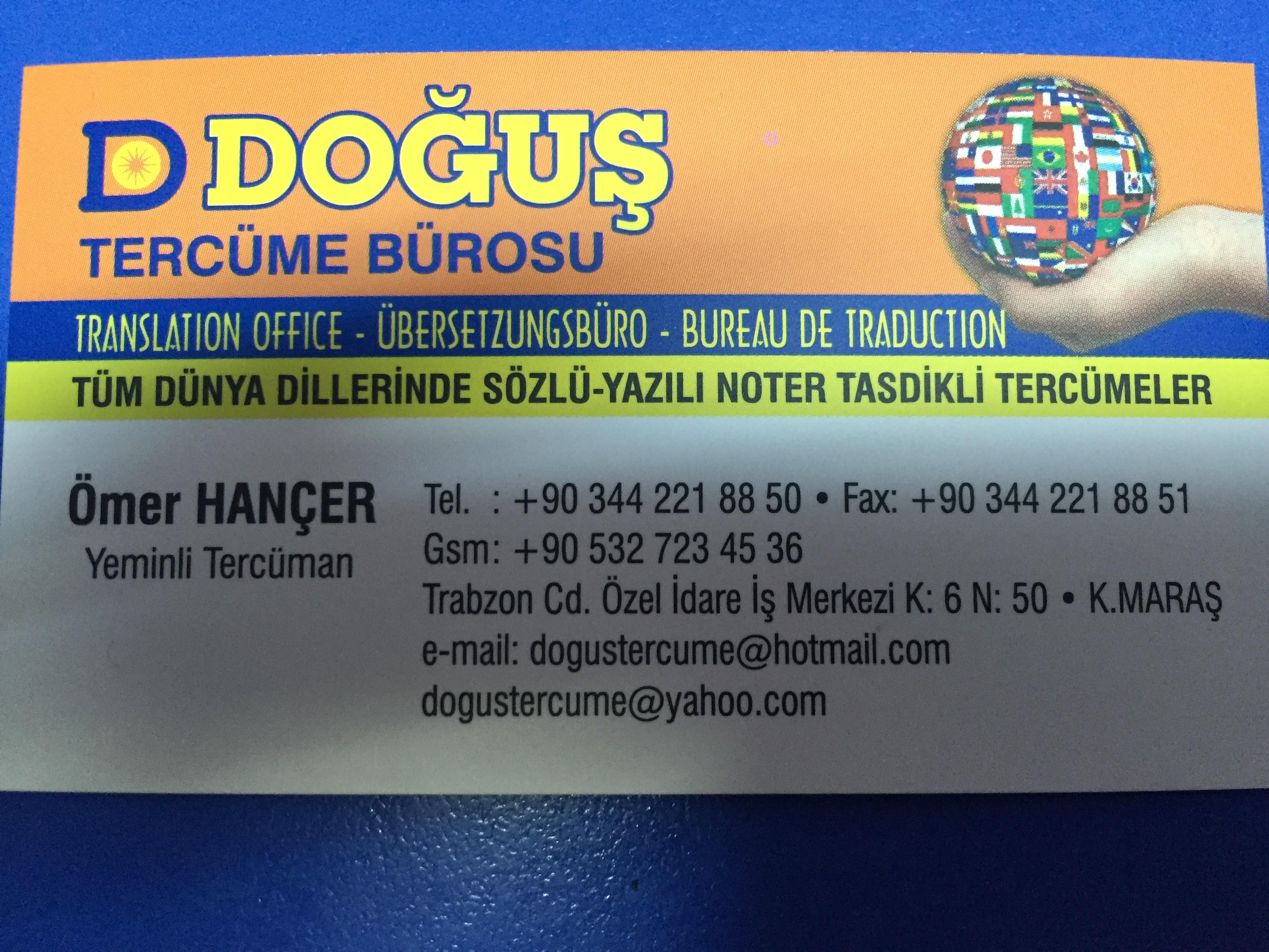 Tüm Tercüme Büroları